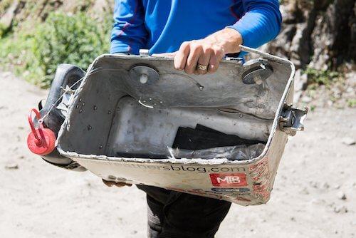 maleta rota - wildfeathers