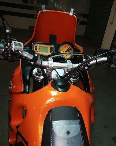 Instrumentación de KTM 650 Adventure