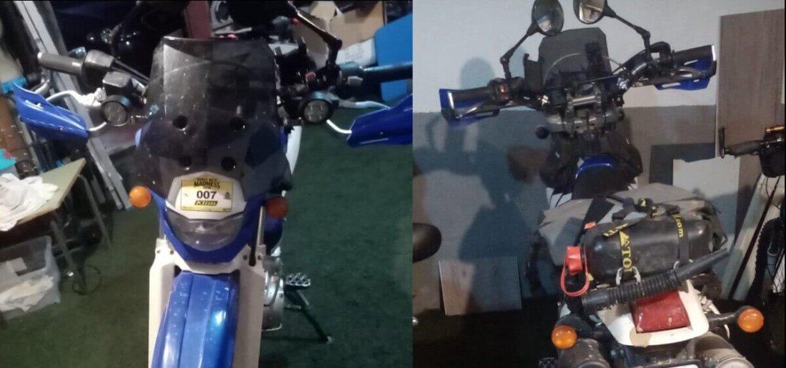 Pantalla de Yamaha TT