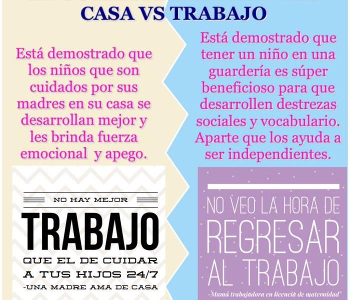 La Guerra De las Madres: AMA DE CASA vs MUJER PROFESIONAL