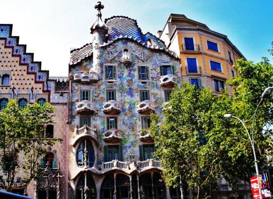 Будинок Батльо (Casa Batllo), Барселона