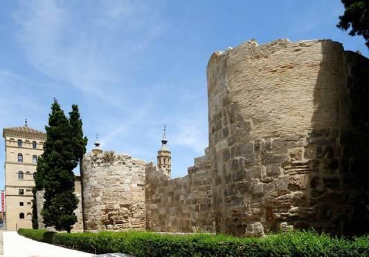 Римские стены Сарагосы