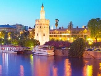 Золотая башня - Севилья, Испания