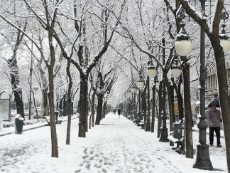 Зима в Испании 1