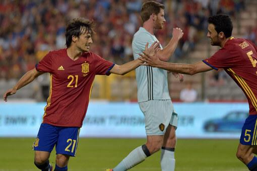 Бельгия - Испания