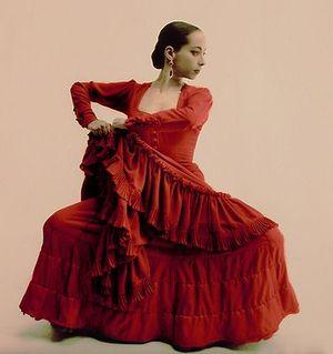 Белен Майя, известная танцовщица фламенко современной Испании