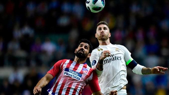 Атлетико Мадрид выигрывает Суперкубок УЕФА, победив Реал Мадрид 4-2