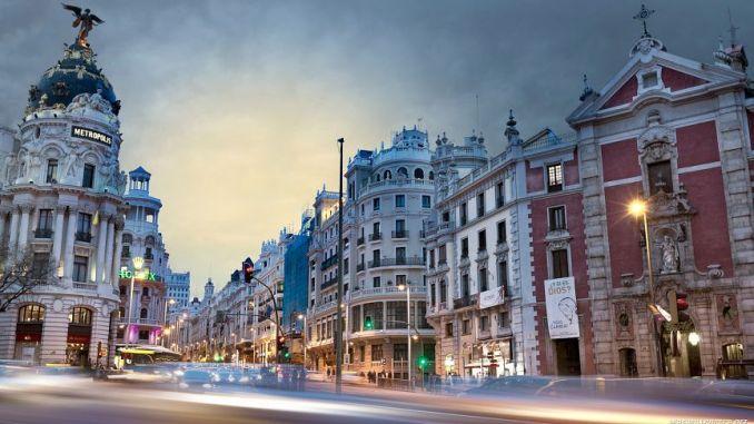 Мадрид, который является третьим самым дружелюбным местом в мире
