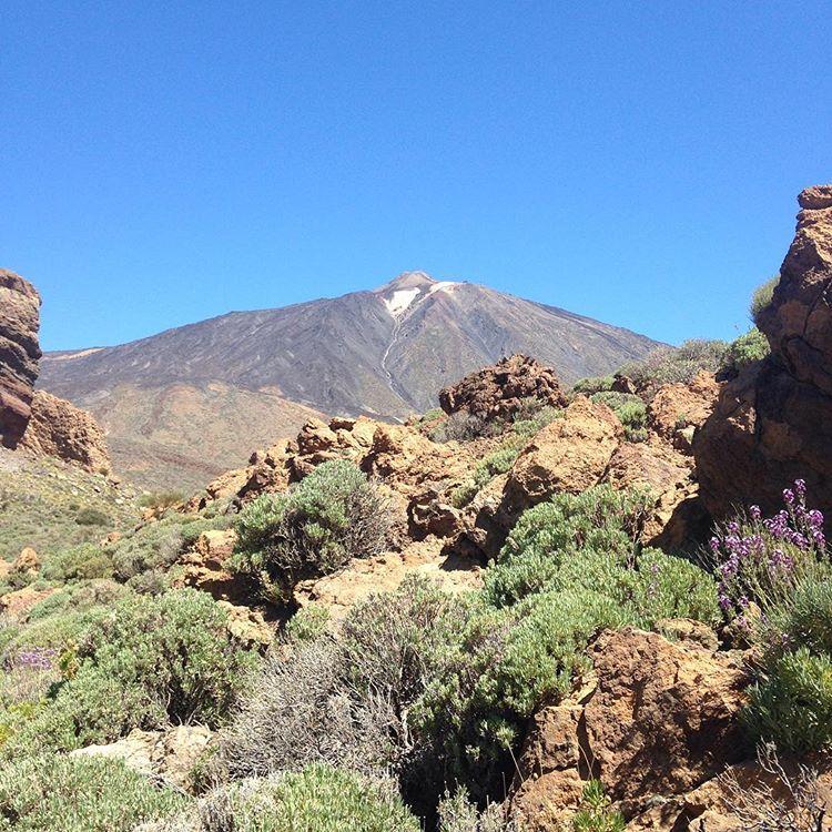 гора вулкан Тейде