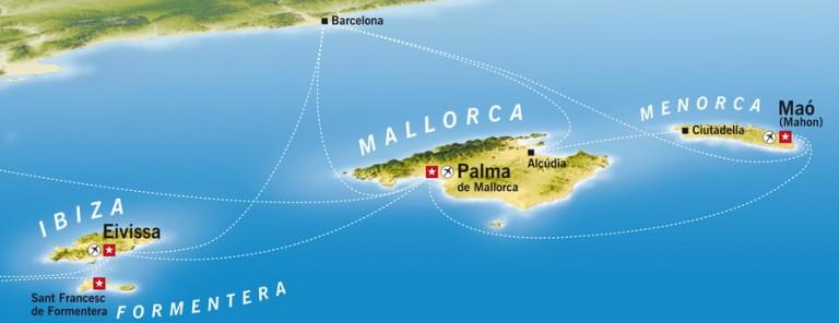 Ибица в составе Балеарских островов