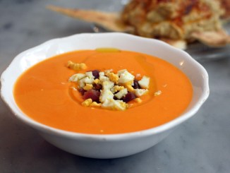 Испанский суп Сальморехо (Salmorejo)