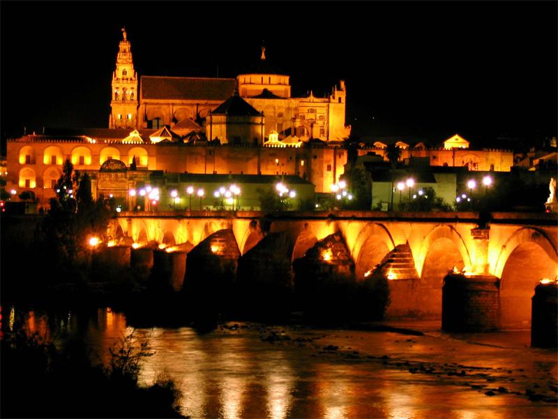 noche - ночь в Испании