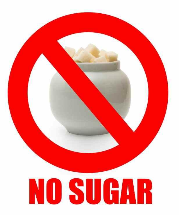 Image result for no sugar
