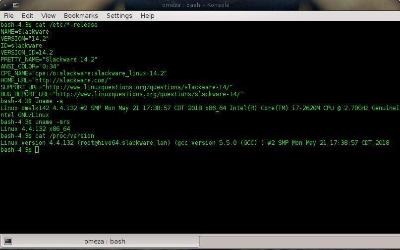 Como saber que version de kernel o distribucion de linux uso