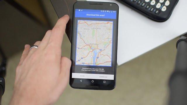 Como descargar Mapas en Google Maps para verlos fuera de linea