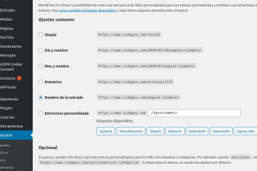 Errores 404 en paginas de sitio WordPress