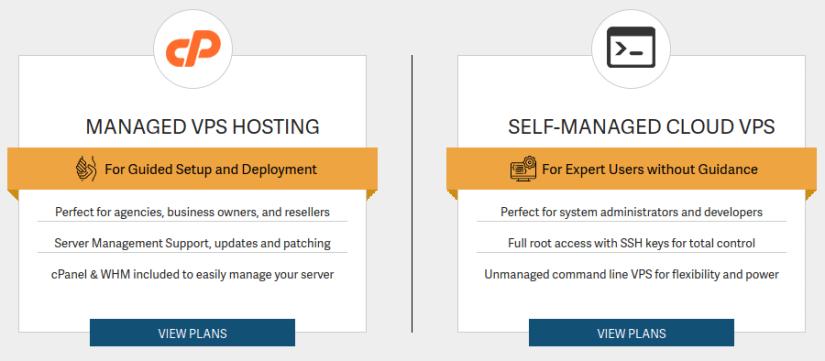 VPS administrado vs VPS auto administrado o no administrado