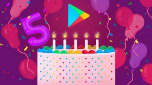 Google Play completa 5 anos. Veja os aplicativos, jogos, músicas e filmes mais baixados