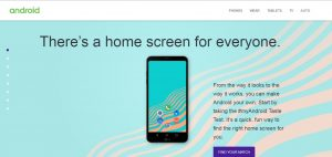 Google lança site para customizar o seu smartphone Android