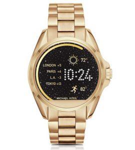Michael Kors lança seu primeiro smartwatch no Brasil