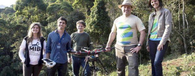 Brasileiros criam drone para monitorar espécies ameaçadas