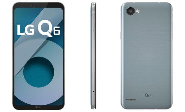 LG lança smartphones Q6 e Q6+ para o mercado intermediário premium