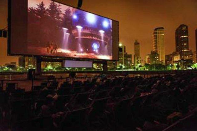 Iniciam as vendas de ingressos para maior cinema ao ar livre do mundo