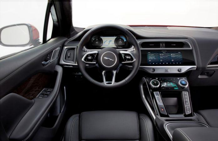 Jaguar I-PACE Interior Painel