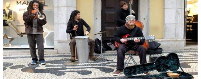 Músicos de rua