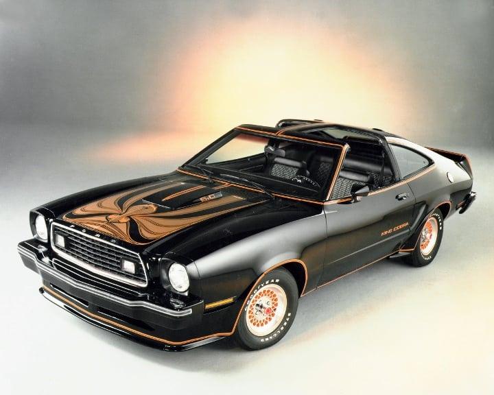 4-Ford Mustang King II_1978 (Foto: Divulgação)