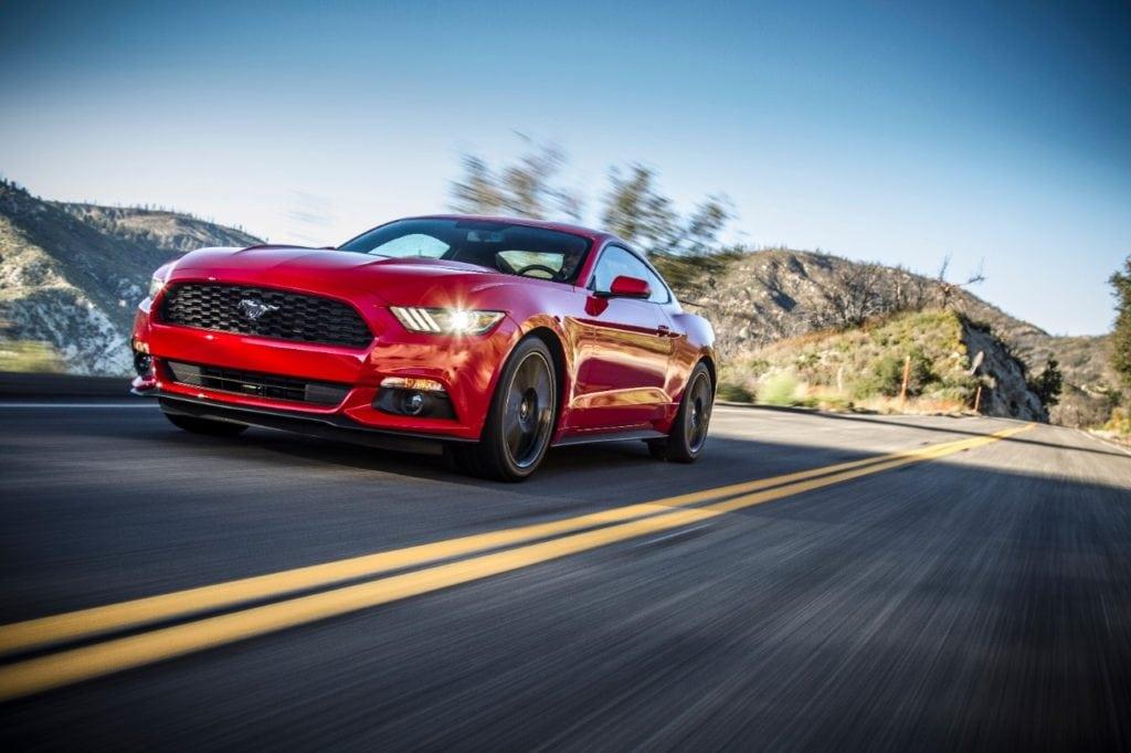 9-Ford Mustang 2015 (Foto: Divulgação)
