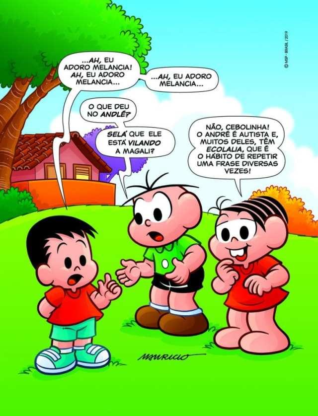 Conheça André, personagem de Mauricio de Sousa que ajuda a entender o autismo