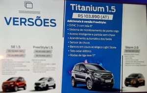 Versão Titanium 1.5