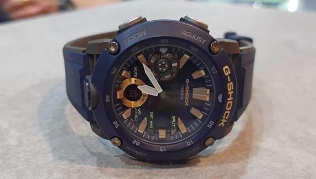 G-Shock anuncia novo relógio em fibra de carbono