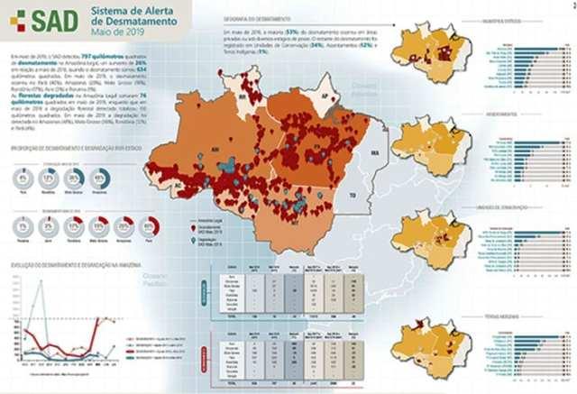 Cerca de 30% do desmatamento da Amazônia ocorreu em Unidades de Conservação