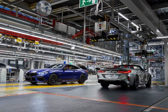 BMW Série 8 M8 Competition Coupé e M8 Competition Convertible 26