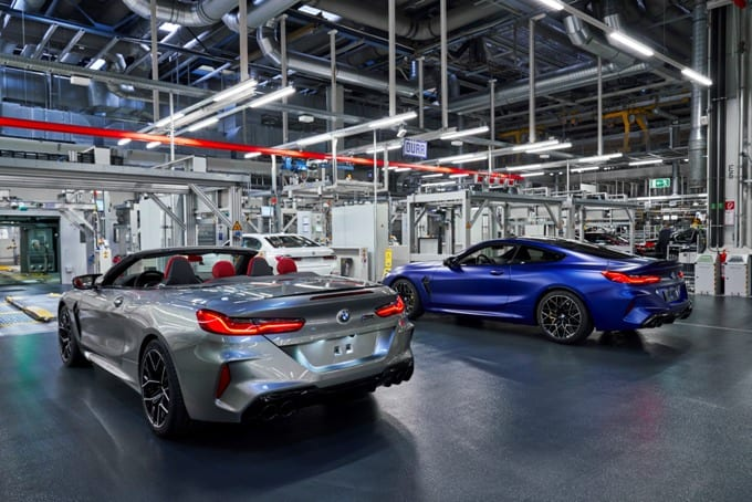BMW Série 8 M8 Competition Coupé e M8 Competition Convertible 27