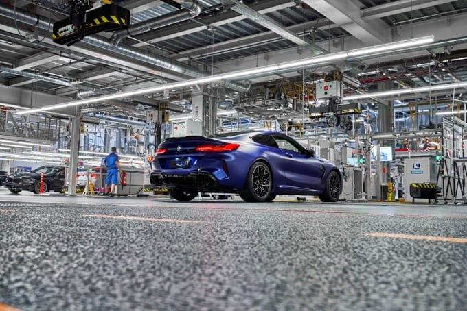 BMW Série 8 M8 Competition Coupé 35