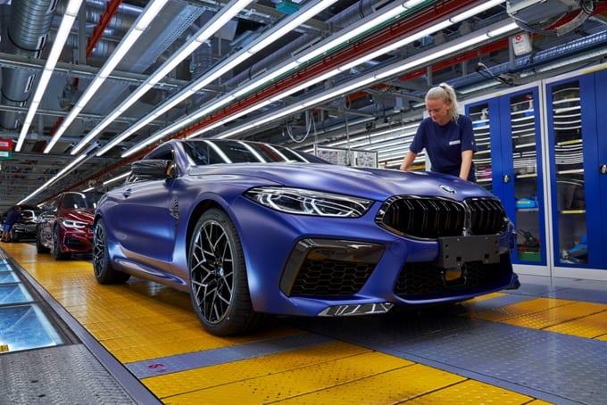 BMW Série 8 M8 Competition Coupé 46