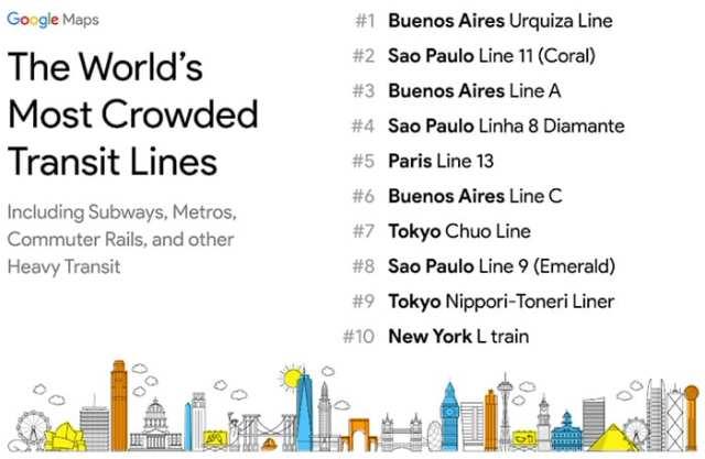 Google Maps lança recursos para estimar tráfego em tempo real