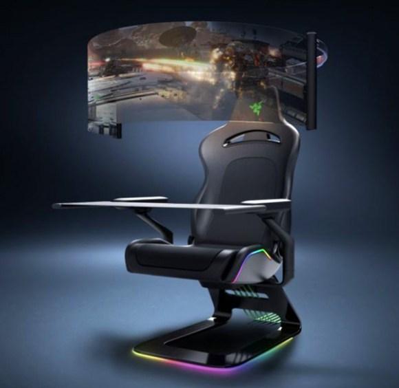 CES 2021: Razer apresenta conceitos de máscara inteligente e cadeira gamer imersiva