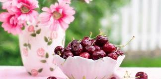 Antioxidante en las cerezas
