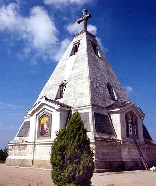 Никольский храм на Братском кладбище в Севастополе.
