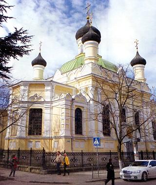 Семинарская Трехсвятительская церковь в Симферополе.
