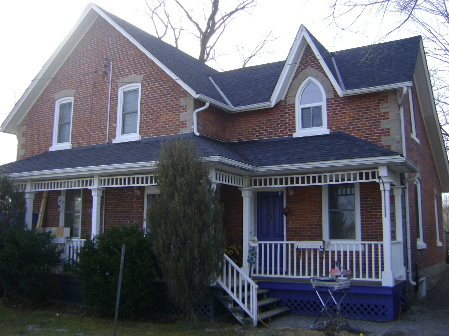Residential shingle roofing by Vidan Roofing - a roofing contractor specializing in residential & commercial roofing in Cobourg and Port Hope