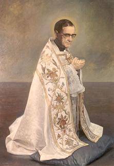 San Josemaría Escrivá. Imagen en el Ateneo de Teología (Madrid)
