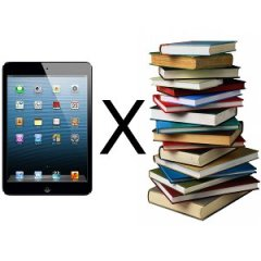 Livros versus ebooks: qual você prefere?