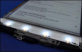 Kindle Paperwhite Light