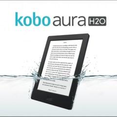 Kobo Aura H2O está chegando ao Brasil