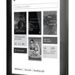 Novo Kobo Aura em pré-venda na Livraria Cultura